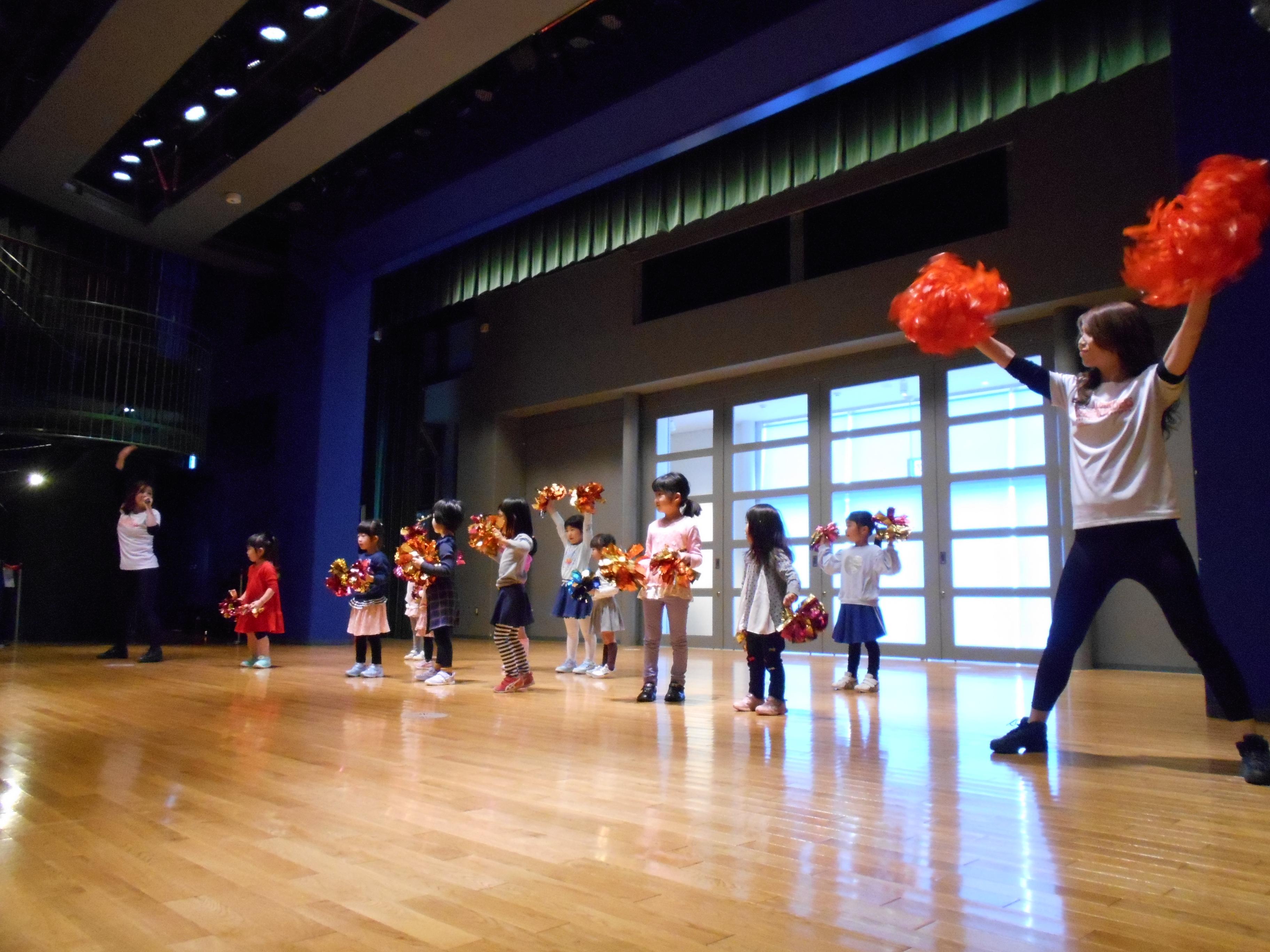 要申込 あるチア訪問隊★親子チアダンス教室(9月)
