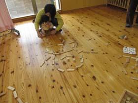 【満席】はじめての木育for Baby~つみきあそびとおもちゃのこと~(10月)