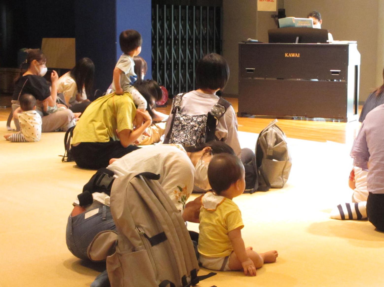 7月「The Sound for Baby~音楽の花束」
