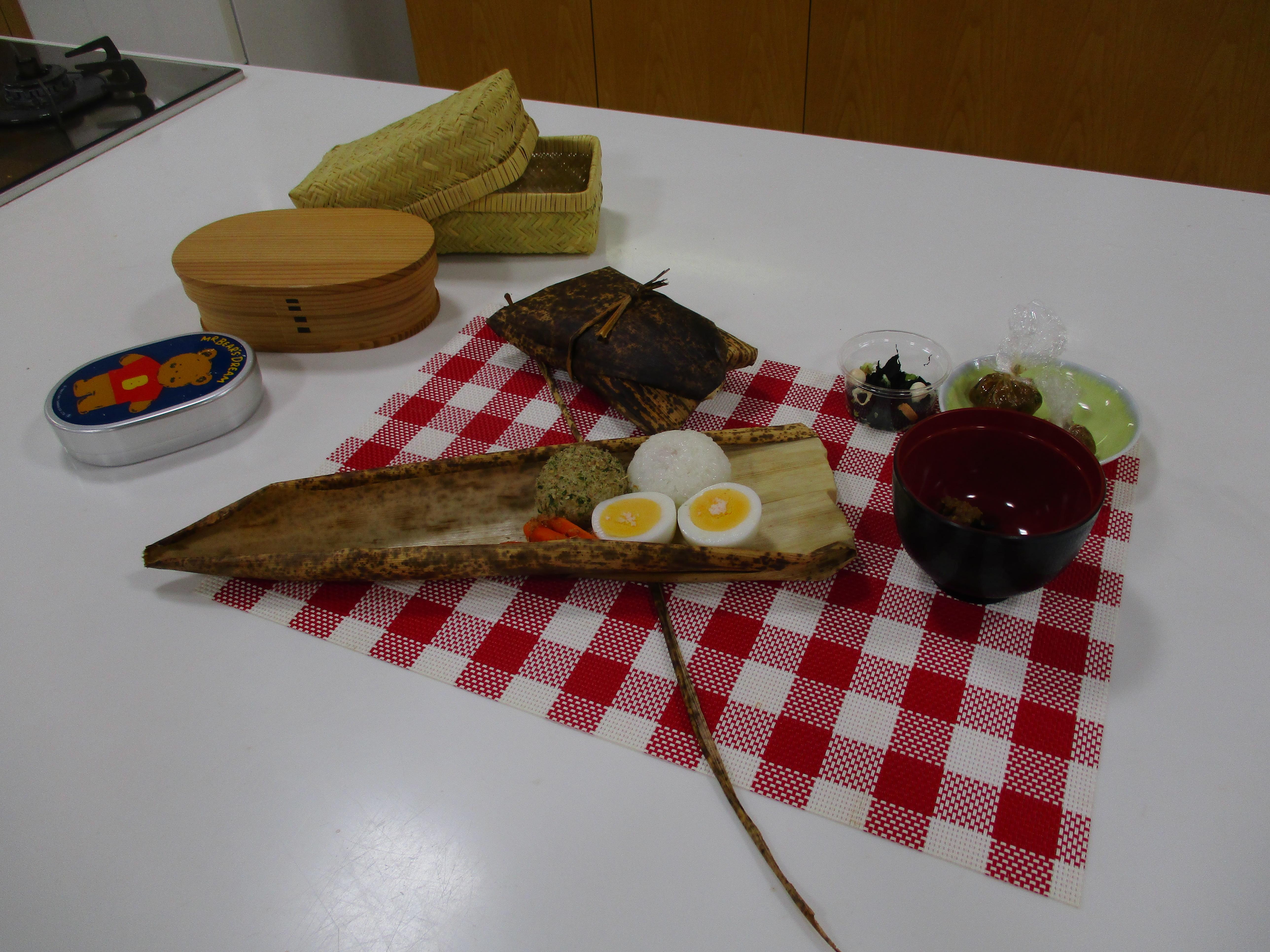 料理教室「ミニキッズキッチン教室 昔のお弁当を作ろう」